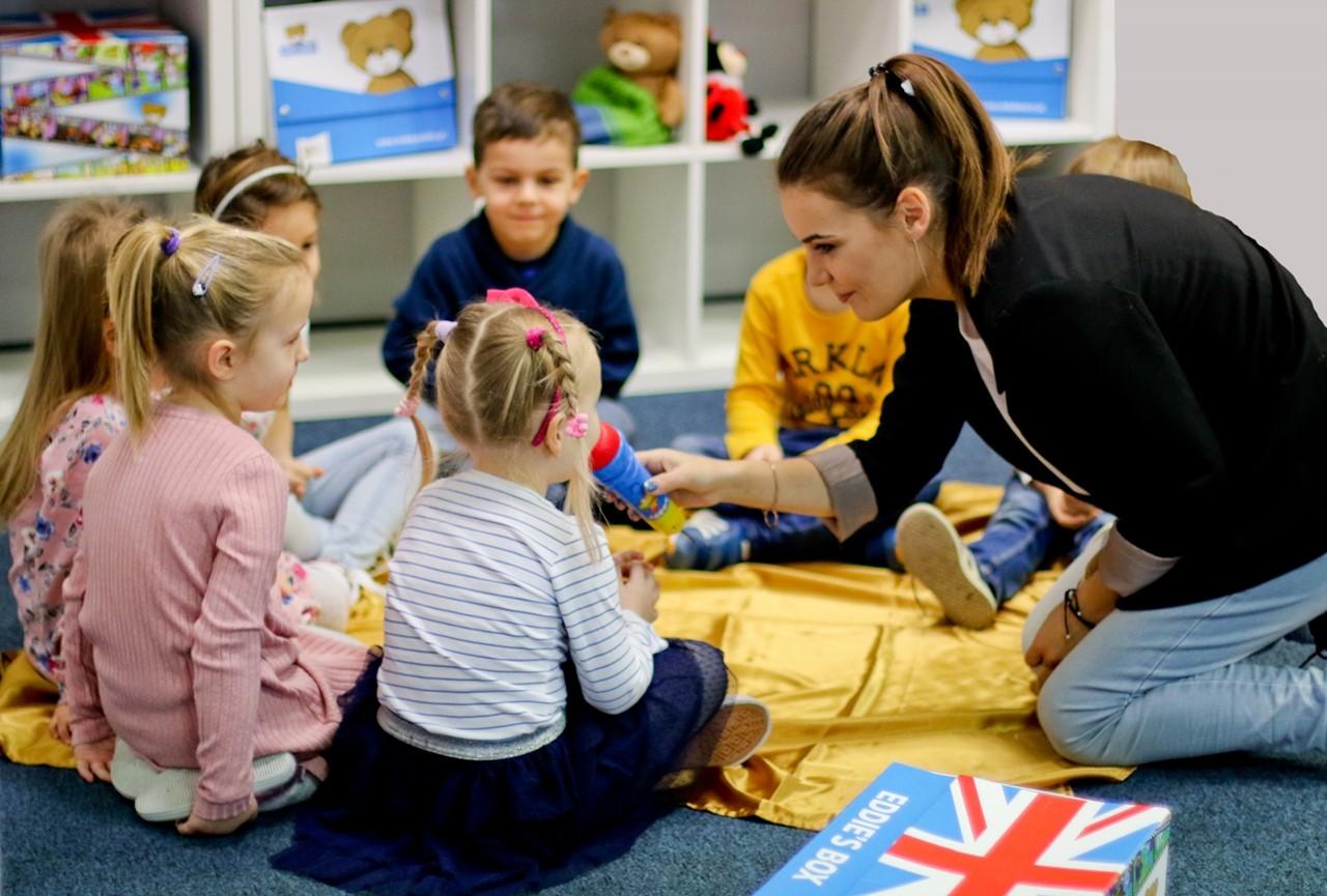 Teddy Eddie Start – angielski dla 2-3 latków